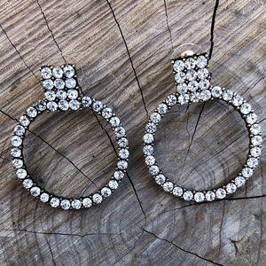 💎Baublebar Crystal Hoop Earrings!🌬